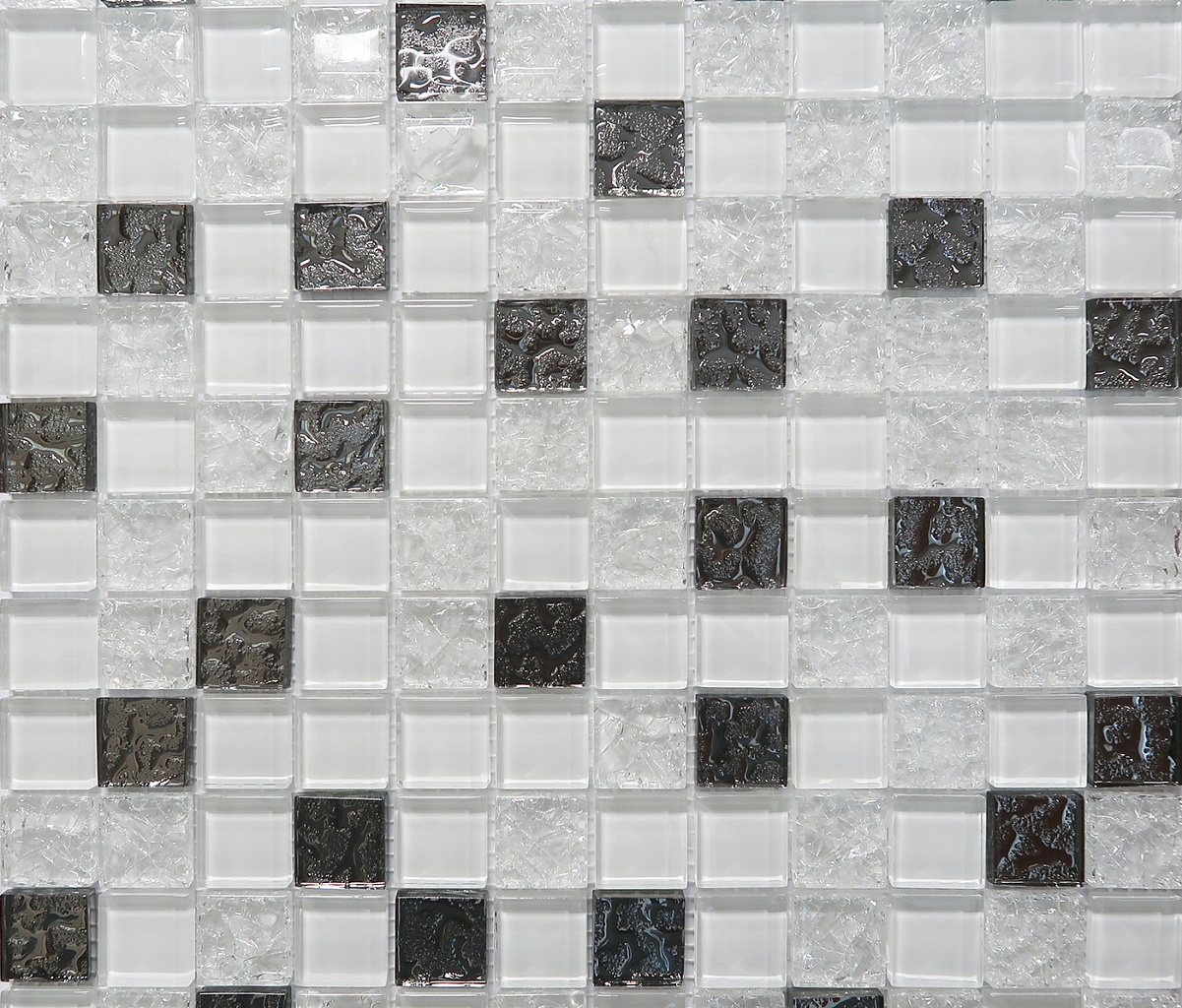 Купить Mosaic Glass White DW7MGW00 Декор 300х300 (6 шт в уп) в Москве, Реутове Химках и Балашихе